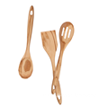 Wooden spoons for cooking