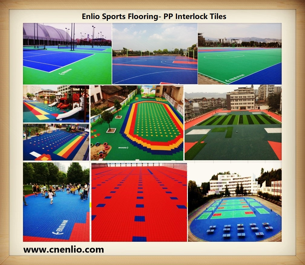 outdoor modular courts