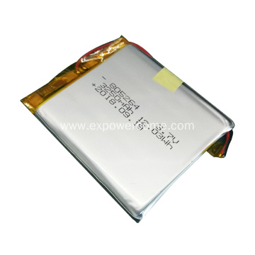 765161 3.7V 3250mAh Lipo Battery for your Selection