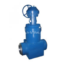 Gear Operated Forged Steel Gate Valve