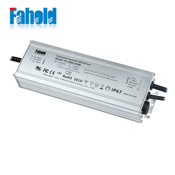 143VDC 160W IP67 Light Light Led Driver