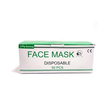 Mask ya uso ya uso ya Disposable