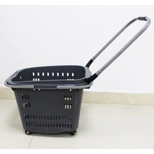 Wholesale Plastic shopping basket for supermarket