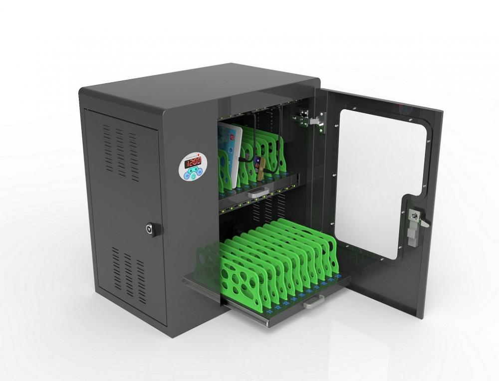 tablet charging cabinet cart