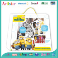MINIONS coloring carry art set