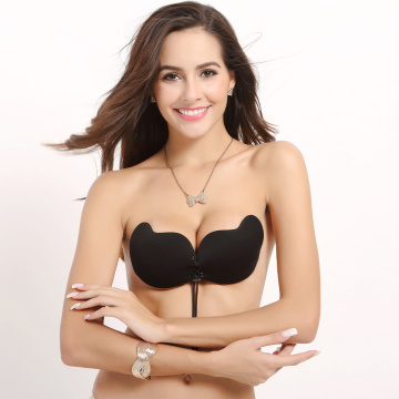 Women Self Adhesive Strapless bra