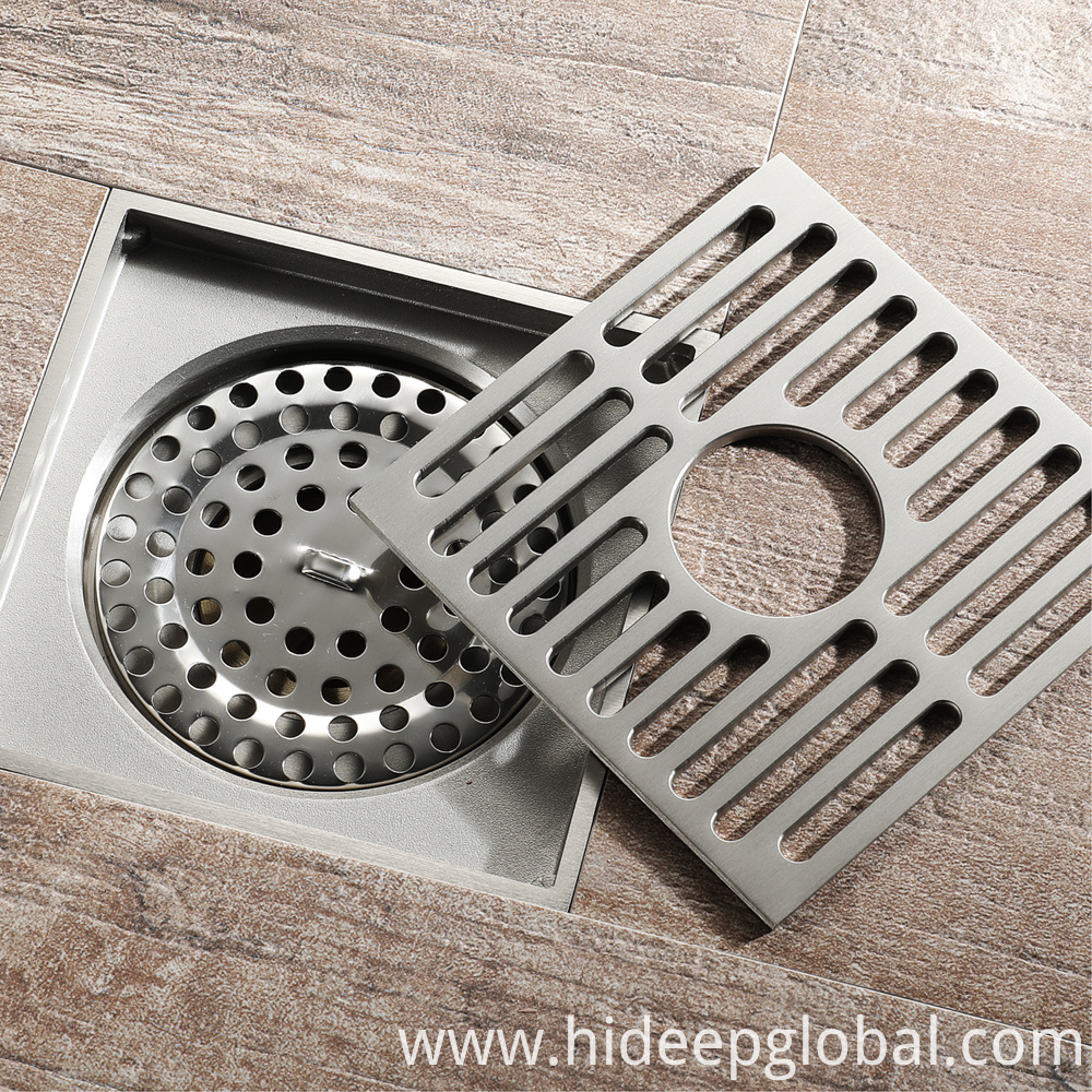 Polished Washing Machine Floor Drain