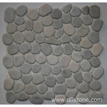 Factory source for Pebbles Stones Mosaic 30.5×30.5cm Popular Honed Natural Stone Mosaic Tiles supply to Russian Federation Manufacturers