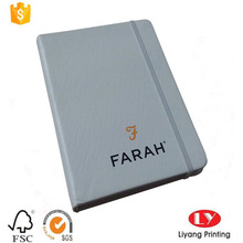 custom A5 hardcover notebook with PU cover