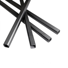 20X30mm carbon fiber rectangular tube for hexacopter