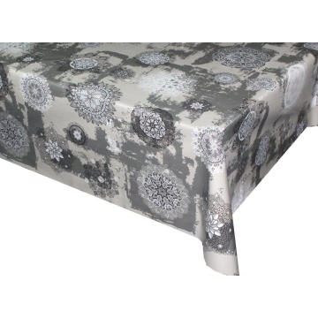 Elegant Tablecloth with Non woven backing Disposable