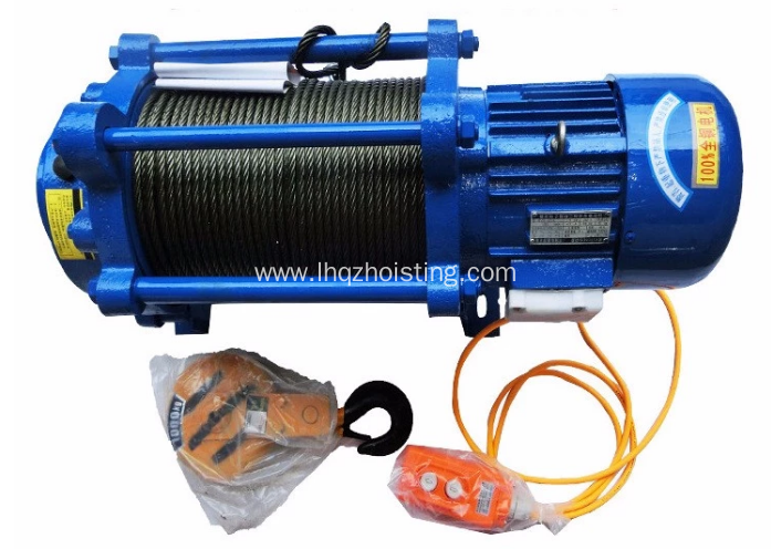 400kg KCD lifting winch wire wireless controler
