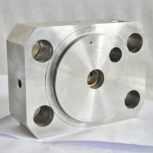 high pressure waterjet intensifier 87000psi part of end bell