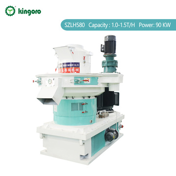 vertical ring die pellet making machine
