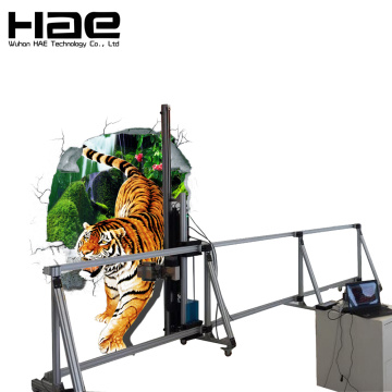 3D Vertical Mural Wall Paint Machine Price