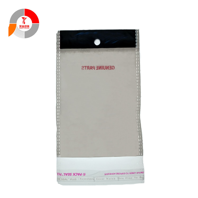 PE BOPP Transparent Pouches with Header