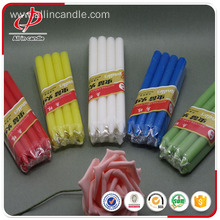 Factory directly provided for Yellow Candle Common home decorative colorful stick candle export to Macedonia Importers