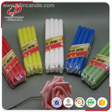 Best Price for for 14G Color Candle Common home decorative colorful stick candle export to France Importers