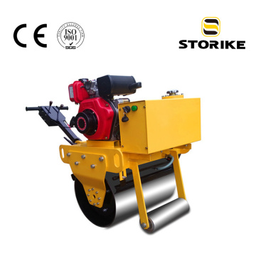 Walk Behind Gasoline Single Drum Small Vibratory Roller