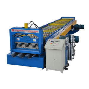 Professional Building Floor Deck Roll Forming Machine