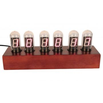 Nixie Tube Digital Clock with Rectangular Light Bulb