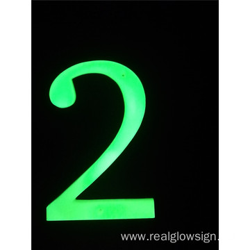 Realglow 3D Number 2