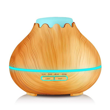 Amazon Wood Grain Oil Diffuser Dengan Pengaturan Timer