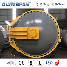 ASME standard fiber glass material bonding autoclave