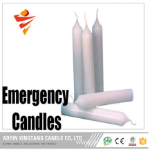 Emergency Drip Free Wax Taper Candle