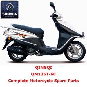 Qingqi QM125T-6C Complete Motorcycle Spare Part