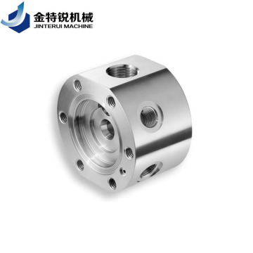 Customized aluminum cnc turning and milling part