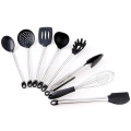 8 pieces silicone cooking utensils set