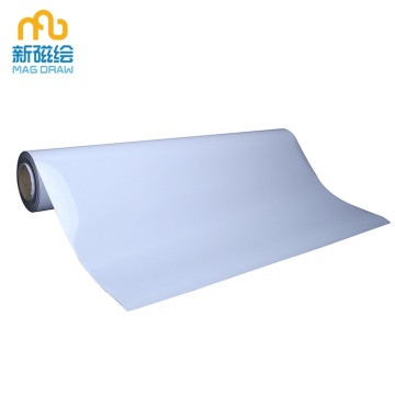 Flexible Whiteboard Rubber Steel Magnetic Receptive Sheet