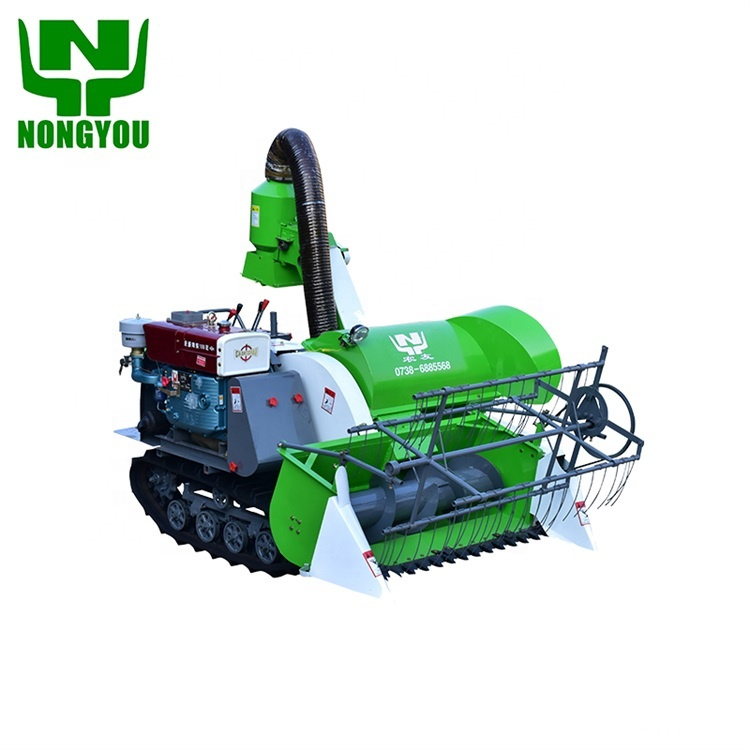 Paddy light weight combine rice harvester