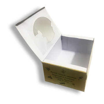 Specialty packaging boxes with PVC window
