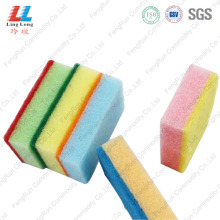 Best Quality for Sponge Scouring Pad,Sponge Kitchen Cleaning Pad,Green Sponge Scouring Pad Manufacturers and Suppliers in China New Design Cleaning Scrubber Usefully supply to Portugal Manufacturer