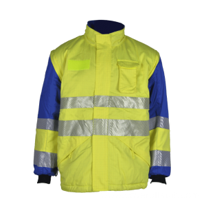 Safety Arc Flash Jacket Pelindung Untuk Welders Uniform