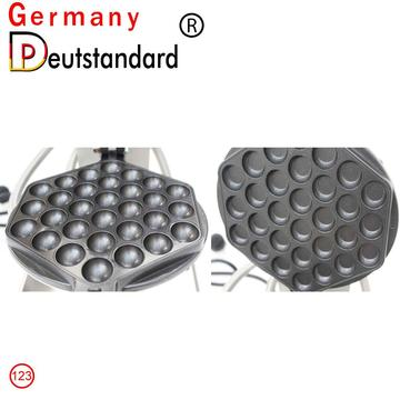 Electric bubble egg waffle maker with CE