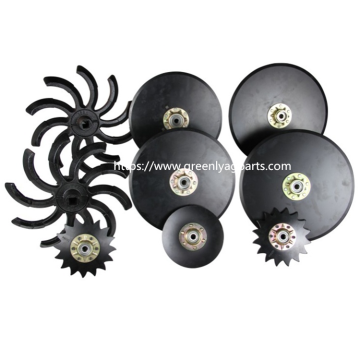 Agricultural disc blades disc openers seed openers