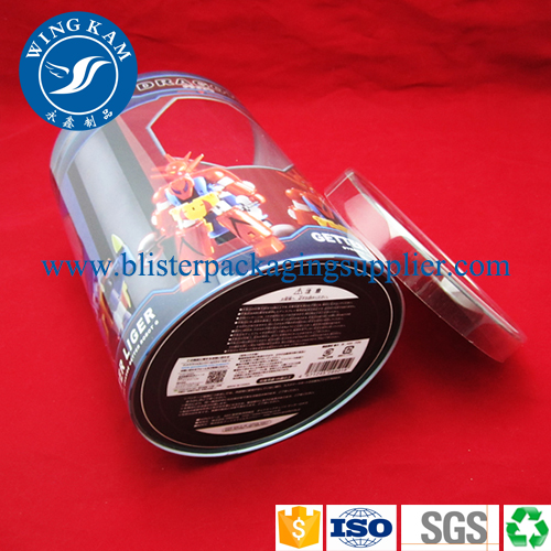 OEM Plastic Cylinder with Printing