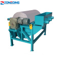 Factory drum type induced roll magnetic separator