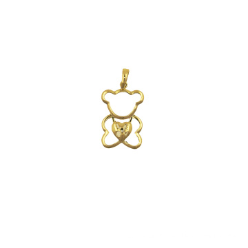 Best Quality for K Gold Pendant,Fox Charm K Gold Pendant,Yellow Gold Pendant Manufacturer in China Teddy Bear K Gold Pendant supply to Virgin Islands (British) Supplier