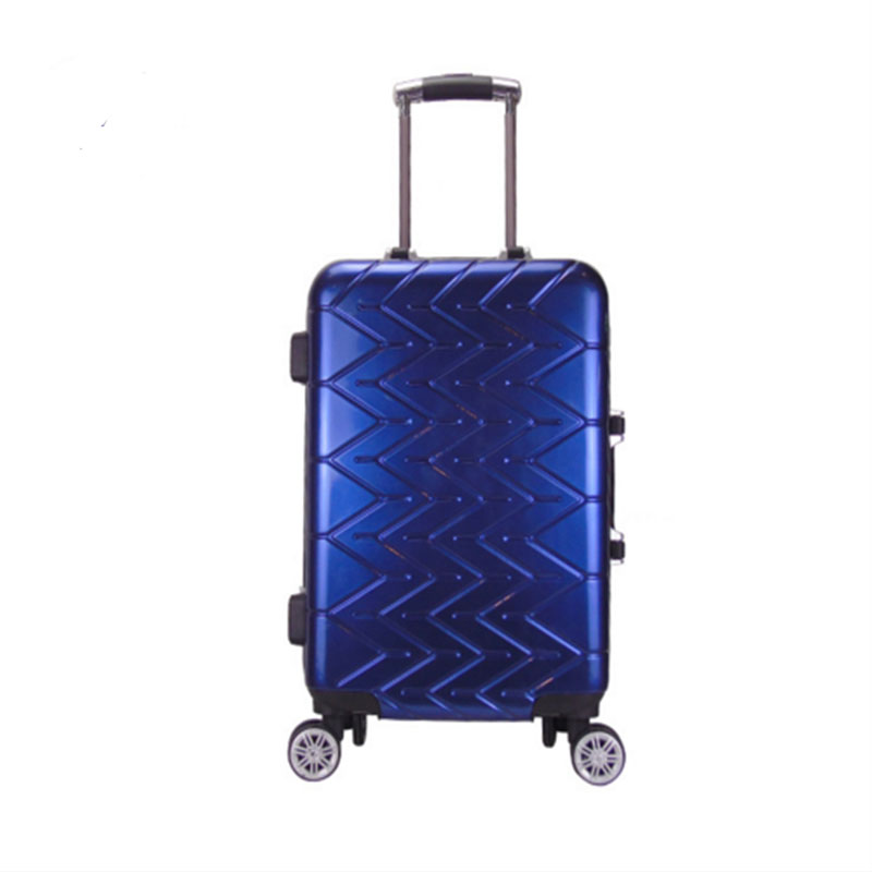 Blue Pvc Luggage