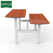 Good Quality for Four Legs Standing Desk,Standing Computer Desk,Motorized Office Desk Manufacturers and Suppliers in China Dual Motor Tablecomputer Table Adjsutable Latest Design supply to Tajikistan Factory