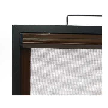 Retractable window with aluminum frame 0937