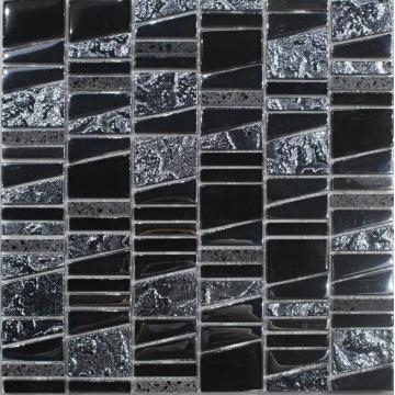 Black Paper Cover Decoration Mosaic Tile