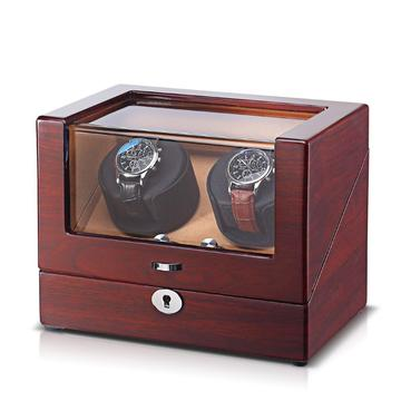 handmade wooden rotor automatic rotation motor watch winder