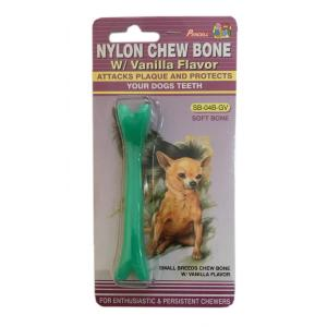 Small Soft Nylon Dog Chew Toy with Vanilla Scent