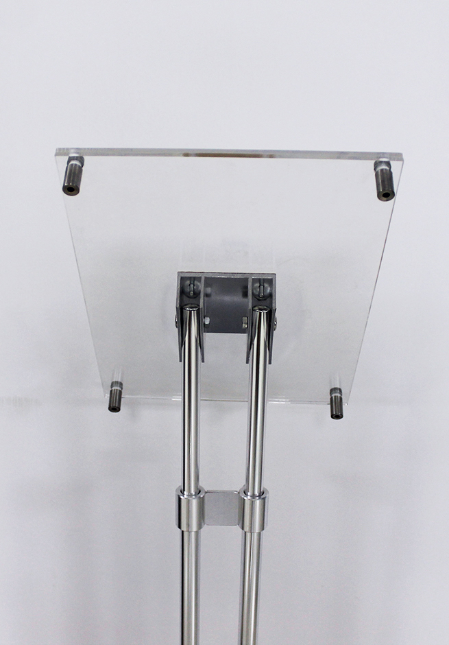 Acrylic Floor Brochure Holder Magazine Stand 1