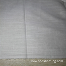 Cotton and Linen/cotton Bunchy Yarn Fabric